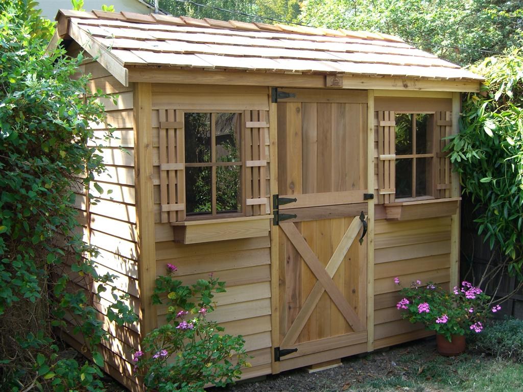 Building a tool shed wonderful woodworking for Garden design kits