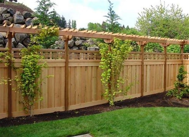 Backyard Fence Designs :  in Selecting Backyard Fence Designs ? backyard privacy fence ideas
