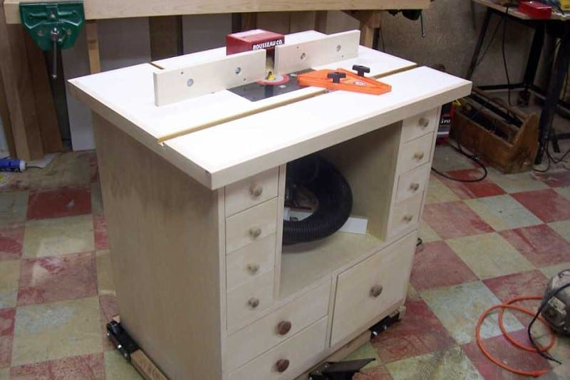 Router table project get the most from your router for How to make a router table