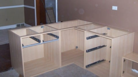 Building european cabinets - How to make your own kitchen cabinets step by step ...