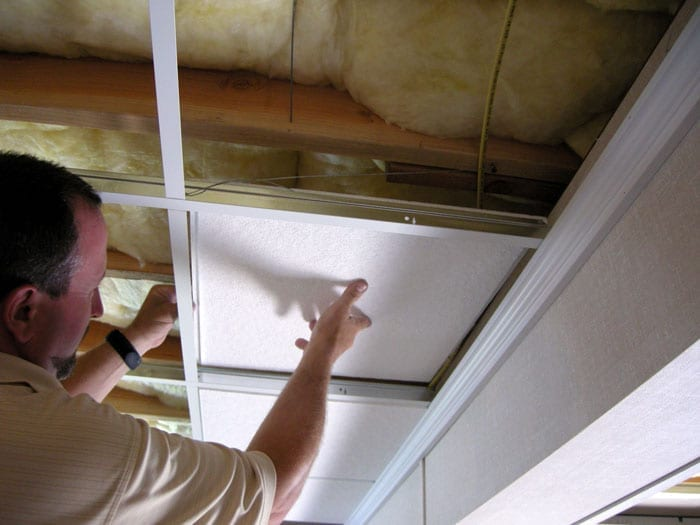 How To Install Suspended Ceilings With Instructions