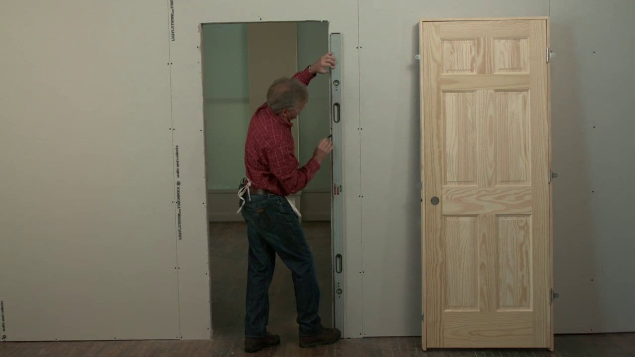Replacing An Interior Door Wonderful Woodworking