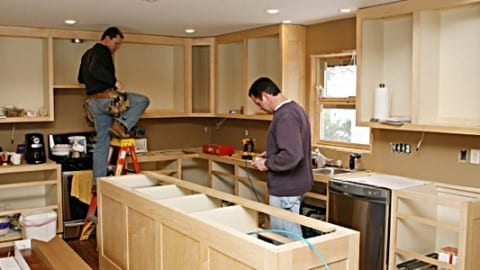 Charming Install Kitchen Cabinets ... Nice Look