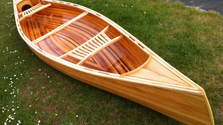 Free Cedar strip canoe building course | for boat maker
