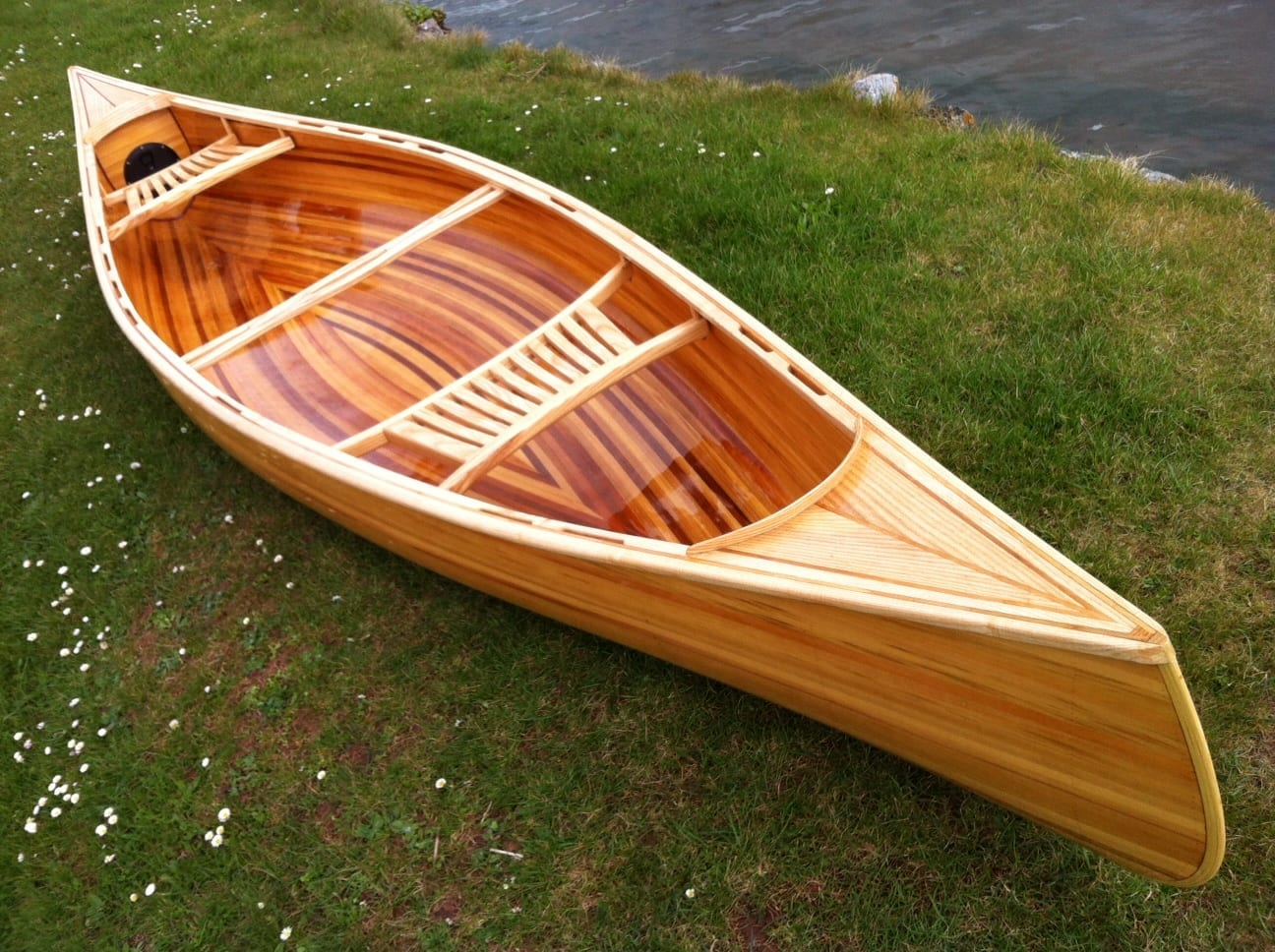Build a strip canoe