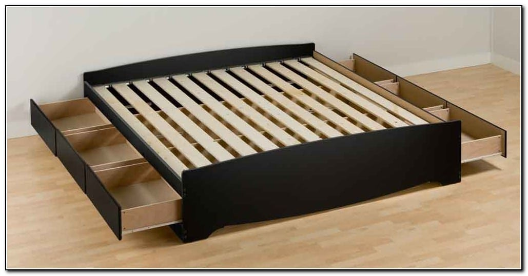 Building A King Size Bed With Storage – Wonderful Woodworking