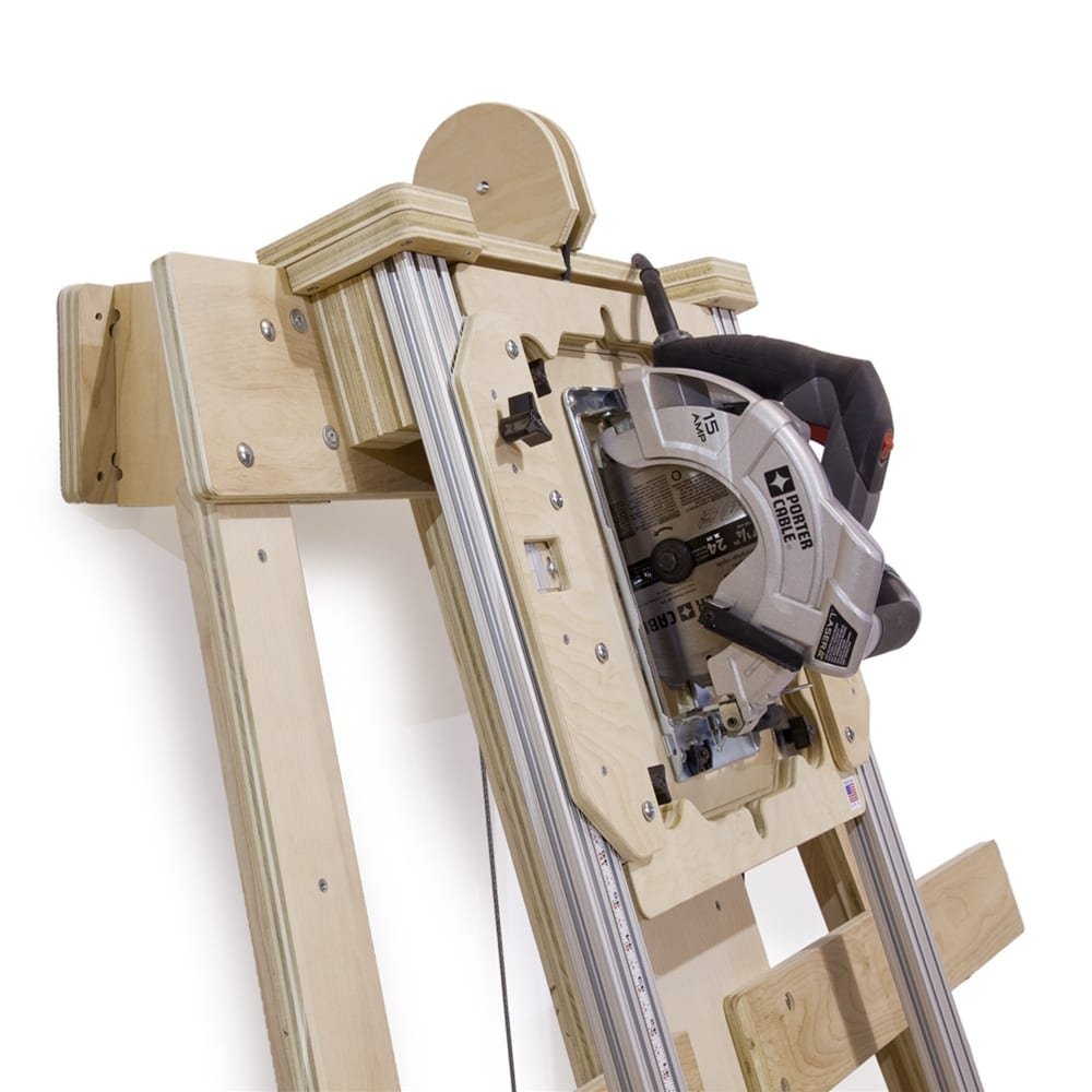 Building A Panel Saw That Makes Cutting 4x8 Sheets Simple