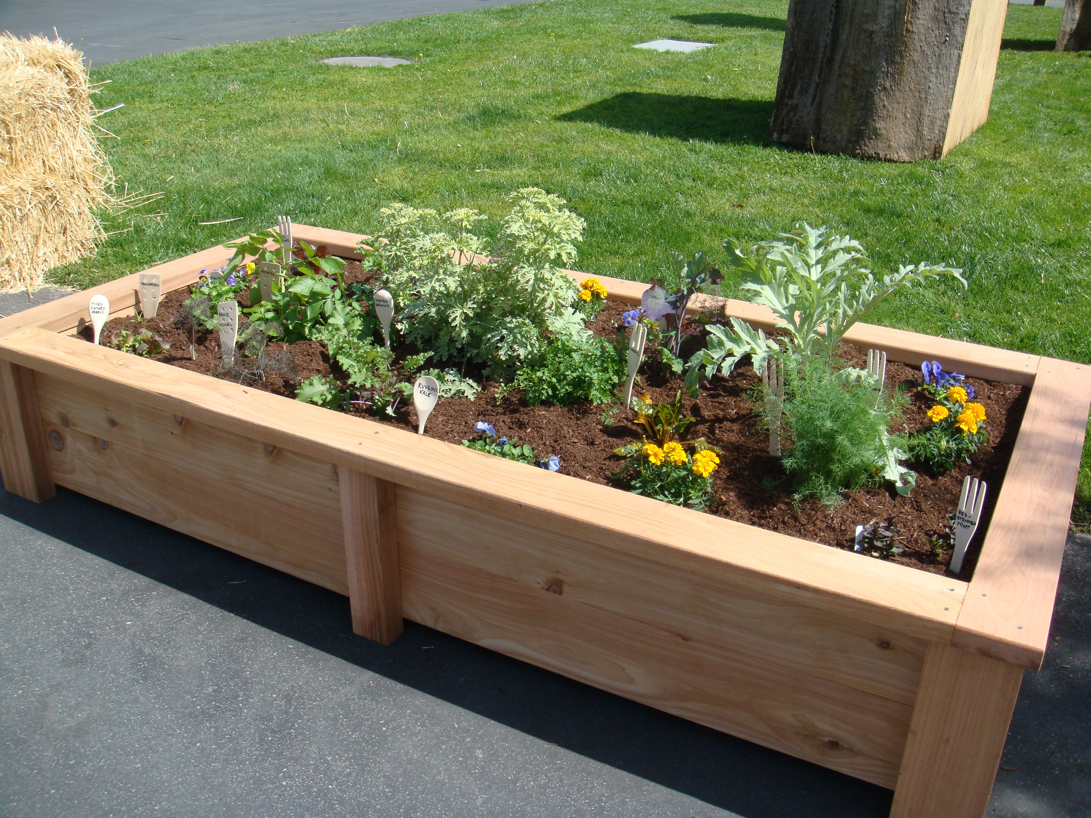 Building a raised flower bed – Wonderful Woodworking